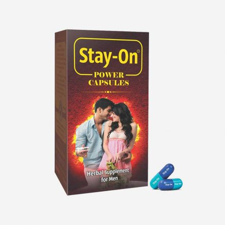 Stay-On Power Capsules(60 units)