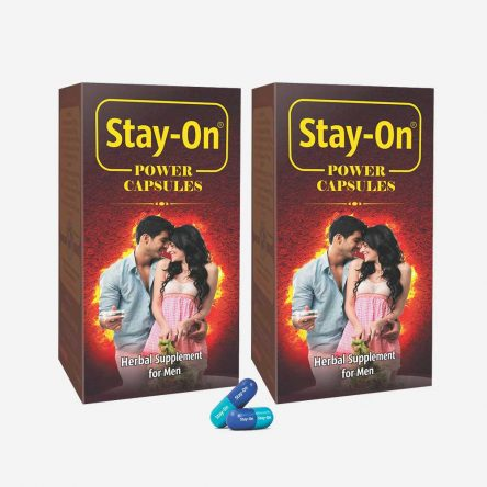 Stay-On Capsules (combo Pack)