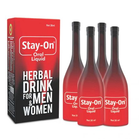 Stay-On Oral Liquid (pack of 4)