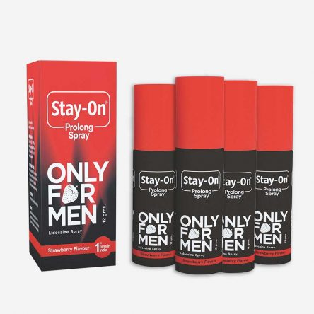 Stay-on Prolong Spray(pack of 4)