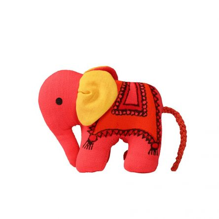 Handcrafted Stuffed Elephant (13 cm)
