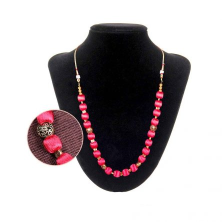 Pink Boho Necklace